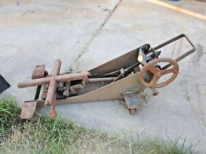 Vintage Walker Transmission Jack Unicradle Shop Tools Lift Lift Motorcycle Art