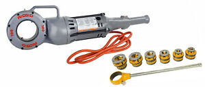 Reconditioned Ridgid 700 41935 And 12 r 36475 Manual Ratchet Pipe Threader