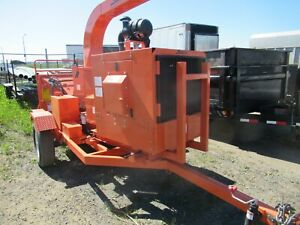 Demo Salsco 810m Disc 10 Wood Chipper Only 2 Hours