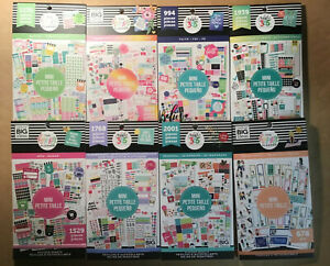 Set Of 8 Me My Big Ideas The Happy Planner Mini Sticker Books 8 Book Deal New