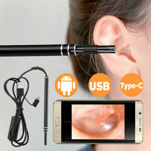 5 5mm Led Endoscope Otoscope Usb Ear Cleaning Camera Scope Ear Wax Earwax Tool