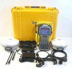 Dual Trimble R8 Model 3 Tsc3 W access Galileo Enabled Complete Gnss Package