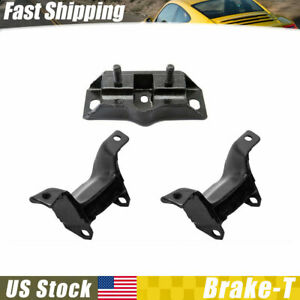 Westar Auto Trans Engine Motor Mount Set 3x For 1966 Ford Mustang V8 4 7l Bt