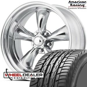 20 Staggered American Racing Torq Thrust Ii Vn515 For C10 Cheyenne 5 Lug 5x5