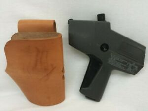 Monarch Paxar 1110 Label Gun And Leather Holster