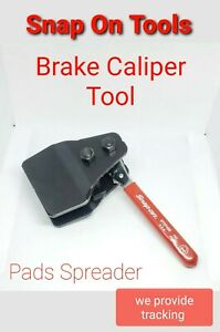 Snap On Tools Ratcheting Brake Caliper Spreader Btcp400 Pad Install Tool New