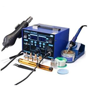 Yihua 862bd Smd Esd Safe 2 In 1 Soldering Iron Hot Air Rework Station f c Wi