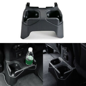 Car Rear Cup Holder Rear Console Mounted Drink Holder For 2018 Jeep Wrangler Jl