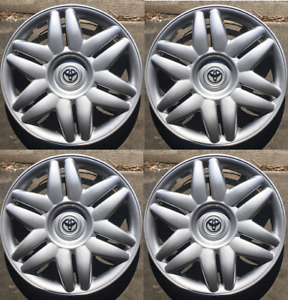 4 X 15 Inch Hubcaps Will Fit Your 2000 2001 Toyota Camry