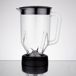 Waring Cac29 48 Oz Commercial Copolyester Blender Container W Lid Blade