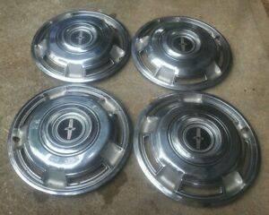 Set Of 4 Vintage 1968 70 Chevy Camaro Exc Ss 14 Hubcaps Wheel Covers 3925886