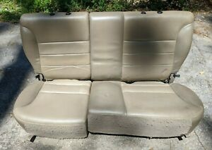 2000 2006 Ford Escape Rear Leather Seat No Head Rest Oem