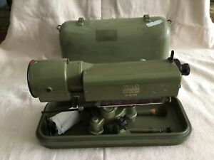 Wild Heerbrugg Leica N3 Precision Level W case Accessories Very Good Condition