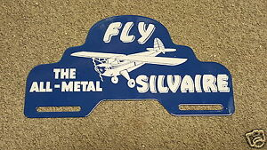 Luscombe Silvaire License Plate Topper 1940s 1950s