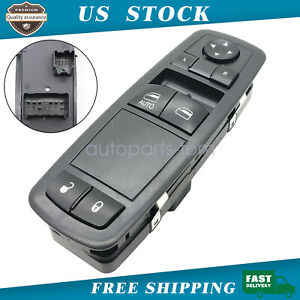 Master Power Window Control Switch Front Left For 2013 2015 Dodge Grand Caravan