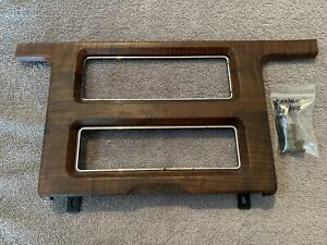 Ford 1989 Ltd Crown Victoria Oem Center Console Trim Dash Excellent Cond