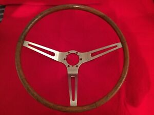 1963 1964 1965 1966 1967 Corvette Teak Steering Wheel lqqk
