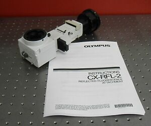 Olympus Cx rfl 2 Reflected Fluorescence Adapter For Cx31 Cx41 Microscopes