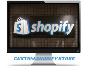 I Will Build A Custom Starter Shopify Dropshipping Store website Ready In 1 2