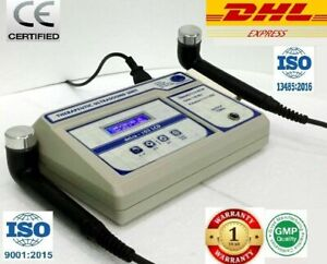 Chiropractic Ultrasound Therapy Physiotherapy 1mhz And 3mhz Two Output Device