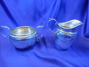Gorham 480 481 Sterling Silver Sugar Creamer Set Excellent Condition A