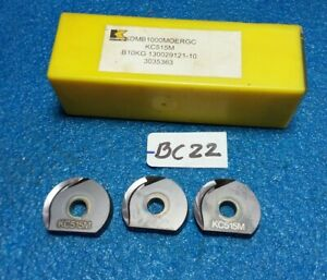 Kennametal Kdmb1000moergc Kc515m Carbide Inserts 3 Pcs