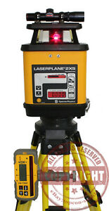 Spectra Precision 2xs Self leveling Dual Slope Laser Level grade trimble topcon