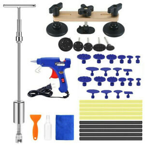 Auto Car Paintless Dent Repair Removal Tools Kit Puller Lifter Slide Hammer