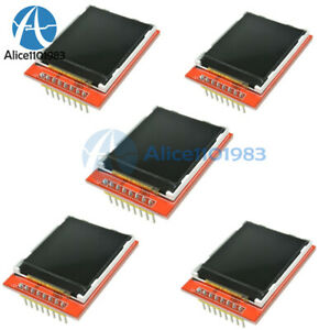 5pcs 1 44 Red Serial 128x128 Spi Color Tft Lcd Module Replace Nokia 5110 Lcd
