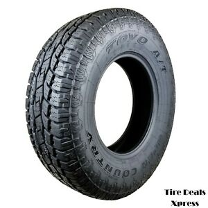 4 four New P245 75r16 Toyo Open Country A tii 109s 2457516 R16 Tire Pn 352120