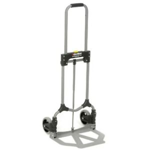 Compact Folding Portable Hand Truck Dolly Collapsible Luggage Cart Moving Trolle