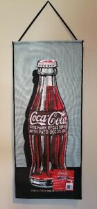 Tapestry-Coca Cola 1923 Bottle Wall Hanging 30 x 13