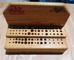 Vintage Mac Tools Tool Truck Punch Or Punches Wooden Sales Display Case