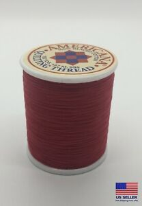 Sewing Thread 100 Cotton Spool Red 150 Yards All Purpose Sew Usa Mask Making