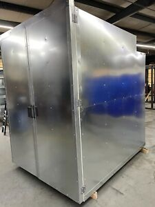 6x8x8 Full Welded Tube Gas Powder Coating Batch Oven 2021 Models Free Shipping