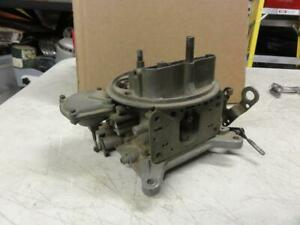 Vintage 3863150dg Holley Carburetor Main Body 1965 L 79 350hp 327 Date 532 Chevy