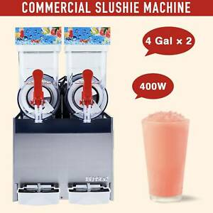 Commercial Frozen Drink Machine Slushie And Margarita Maker 8 Gallon Capacity