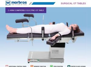 C arm Compatible Semi Electric Or Table Operation Theater Surgical Table