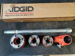 Ridgid 00 r Pipe Threader Set 1 2 3 4 1