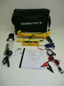 Schonstedt Xt 82 Khz 512hz Sonde cable pipe Utility Line Tracer Magnetic Locator