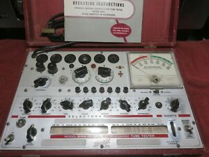 Hickok Tube Tester Model 600a Working Unit