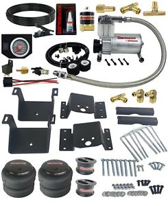 Air Tow Kit Black In Cab Control Fits 4 Lifted 18 19 Chevy Silverado 2500 3500