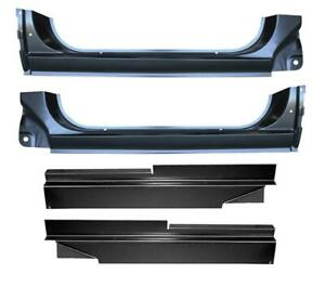 Inner Outer Rocker Panels Rust Repair For 73 87 Chevy Gmc Pickup Truck Kit
