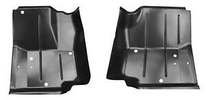 Front Floor Pan For 87 95 Jeep Wrangler Yj 76 86 Cj7 Pair