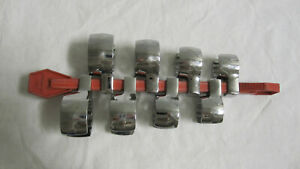 Snap On 5 8 To 1 1 16 8pc 3 8 Drive Flare Nut Crowfoot Wrench Set