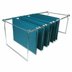 Business Source Hanging File Folder Frame Letter Stainless Steel bsn60529