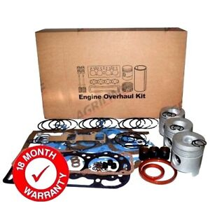Engine Overhaul Kit Less Liners For Some Ford 4000 4600 4610 Tractors