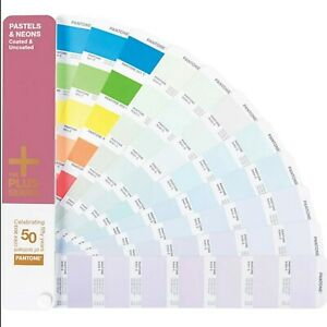 Pantone Pastels Neons Coated Uncoated Plus Series Color Guide