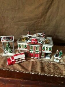 DEPT 56 COCA COLA BOTTLING PLANT AND MORE! 54690