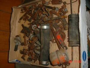 15 lbs Original Allis Chalmers Wd wd45 Tractor Bolts Small Parts Etc Ac Wd